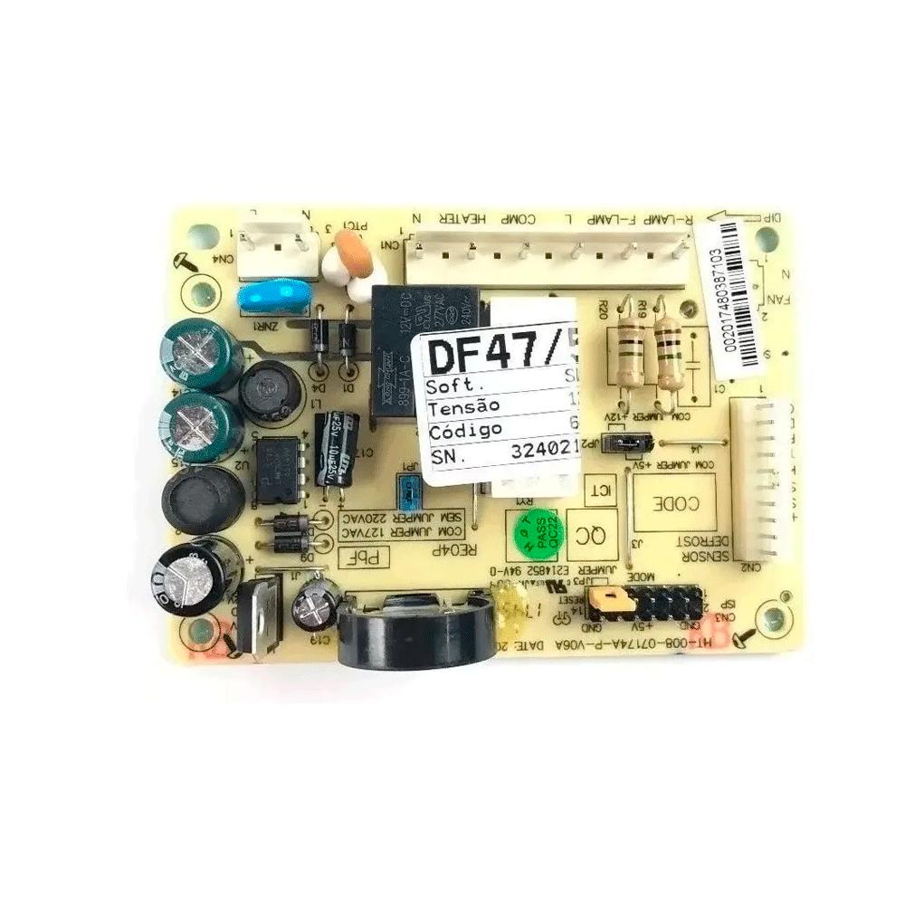 Placa de Potência Bivolt Refrigerador Electrolux DF47 / 50 64500437