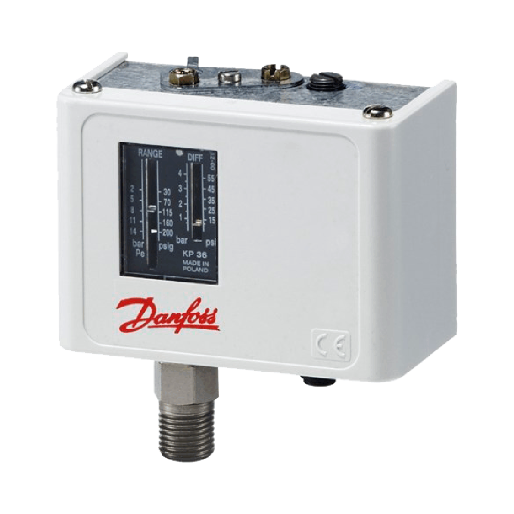 Pressostato Alta Automático KP5 - Danfoss