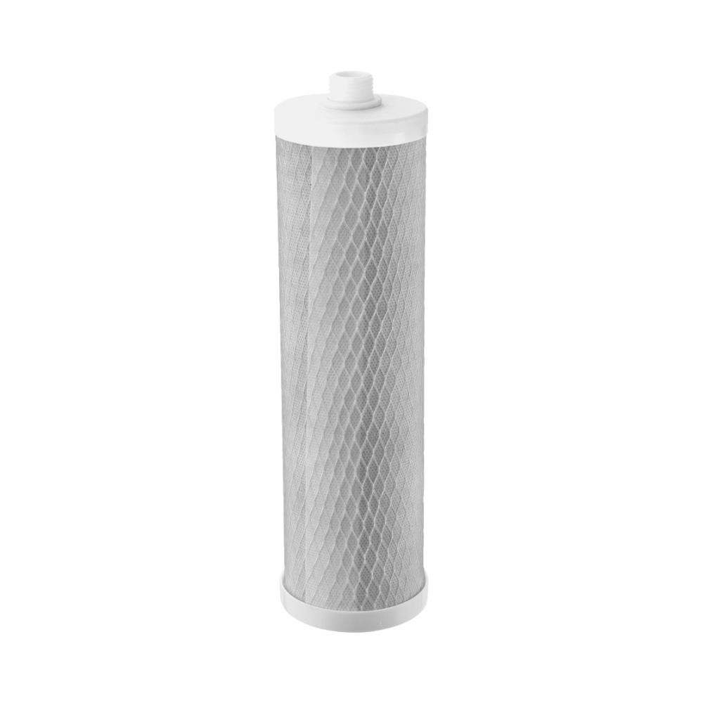Refil Carbon Block 9,3/4'' Com Rosca Com TNT 1021 - Planeta Água