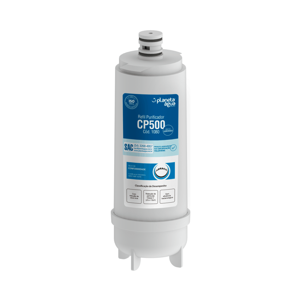 Refil CP500 Bico Grosso 1080 - Planeta Água