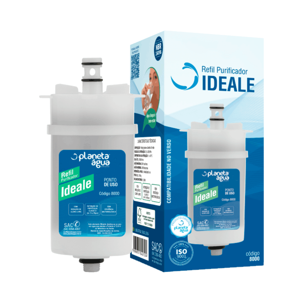 Refil Ideale 8000 - Planeta Água
