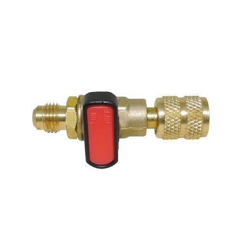 Registro Bola 1/4 para manifold de refrigeração