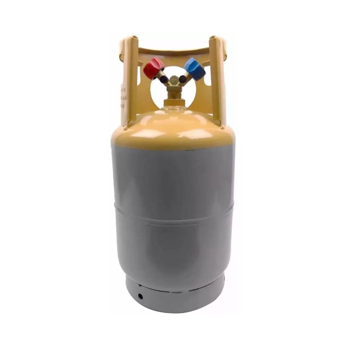 Tanque Recolhedor Recicladora Gás Refrigerante 13,6 Kg/10lbs - Tipi