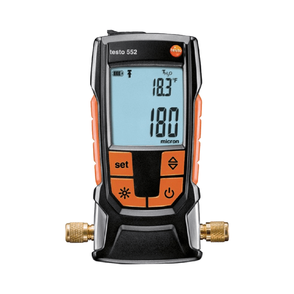 Testo 552 Vacuometro Digital com Bluetooth