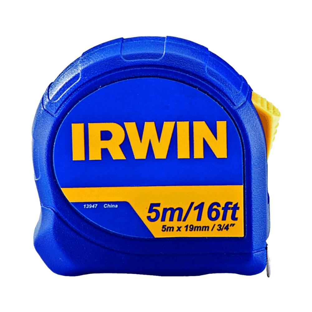 "Trena Standard 5 m x 3/4"" Irwin - 013947"