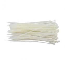 Abraçadeiras de Nylon para Lacre 3,0mm x 100mm - Branca