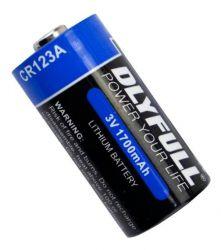Bateria CR123a 3v