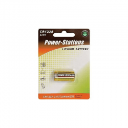 Bateria cr123a 3v power stations