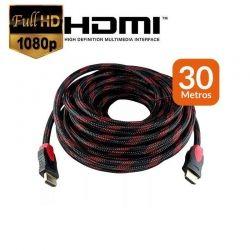 Cabo HDMI 1.4 Preto com Filtro Especial - 30 Metros