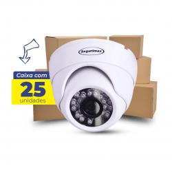 Caixa Câmera Segurimax - Dome 4 em 1 full HD lente focada 25 Unidades