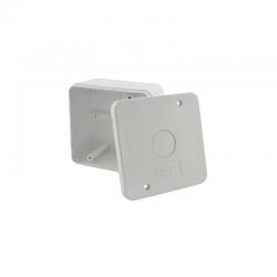 Caixa de Sobrepor para Acoplamento de Conectores Stilus - Kit com 50 Unidades
