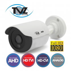 Câmera TVZ Bullet Flex HD 4BLP2Q Full HD (2.0MP | 1080p | 2.8mm | Plast)