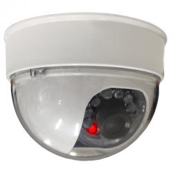 Câmera Security Parts Dome Falsa 3 Polegadas com Led Bivolt