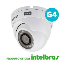 Câmera Dome Intelbras Full HD VHD 1220 D Multi HD G4 (2.0MP | 1080p | 2.8mm | Plast)