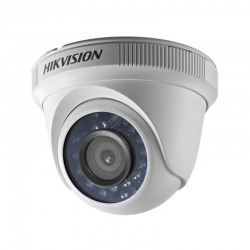 Câmera Hikvision Dome HD-TVI Turbo HD (1.0MP   720p   2.8mm   Plast)