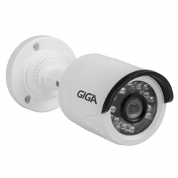 Câmera Giga GS0002 Bullet Digital 960 Plus IR 20M (960TVL | 494p | 3.2mm | Plast)