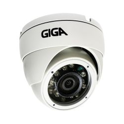 Câmera Giga GS0051 Dome Open HD Sony Starvis IR WDR 30M 4MM IP66 Full HD (2.0MP | 1080P | 4mm | Metal)