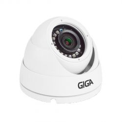 Câmera Giga Security GS0274 Dome Orion Open HD IR 30M (2.0MP | 1080p | 2.8mm | Metal)