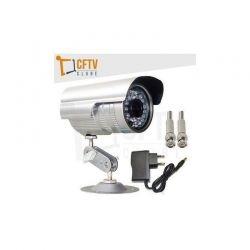 Câmera infravermelho digital 700 linhas + fonte + conectores