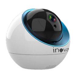 Câmera Inova Robozinha IP Sem Fio Auto-Tracking CAM-5704 (1.0MP | 720p | Wi-fi | IP65 | Plást)
