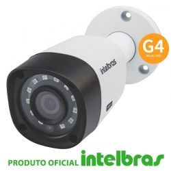 Câmera Intelbras 1010b g4 1.0 megapixel 720p - Bullet
