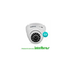 Câmera Intelbras Dome Multi HD 3220D G3 Full HD (2.0MP | 1080p | 3.6mm | Metal)