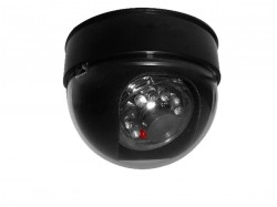 Câmera Security Parts Dome Falsa 3 Polegadas com Led Bivolt