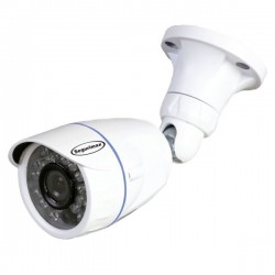 Câmera Segurimax Bullet 4 em 1 Full HD Lente Aberta (2.0MP | 1080p | 2.8mm | Metal)