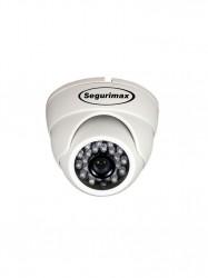 Câmera Segurimax Dome 4 em 1 Full HD Lente Focada (2.0MP | 1080p | 3.6mm | Plástico)