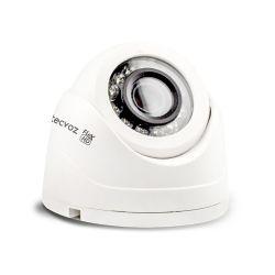 Câmera Tecvoz Mini Dome Flex HD CDM-128MP Alta Definição (1.0MP | 720p | 2.8mm | Plast)