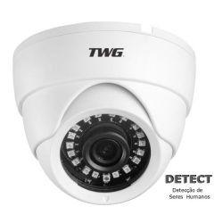 Câmera TWG Dome TW-7640 HB XVI-AHD/CVI/TVI/CVBS (2.0MP | 1080P | 2.8mm | Plástico)