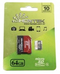 Cartão de Memória Hontek Micro SD 64GB