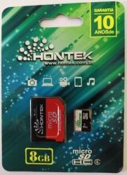 Cartão de Memória Hontek Micro SD 8GB