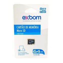 Cartão de Memória Micro SD 64GB
