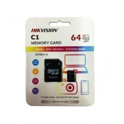 Cartão de Memória Micro SD 64GB Hikvision