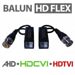 Conversor Balun HD Flex de Engate Rápido  - AHD / HDCVI / HDTVI
