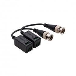 Conversor Balun Passivo Intelbras VB 501 P Vídeo HD