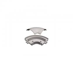 Cotovelo Externo para Canaleta de Chão 60mm x 13mm Dexson