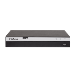 DVR Intelbras 08 Canais Multi HD Full HD 4K MHDX 5108