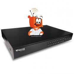 DVR Stand Alone Digital Tecvoz 32 Canais Flex Full HD + 4 canais IP 4 megapixels TW-P3032