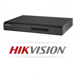 DVR Hikvision 04 Canais Turbo Hd 5 Em 1 DS-7204HGHI-F1