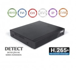 DVR TWG TW-5108T DH 08 Canais Full HD 5MP 6x1 Tecnologias