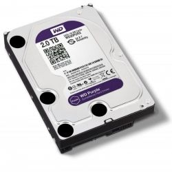Hd sata western digital purple 2.0tb - ideal para intelbras