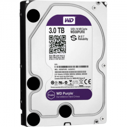 Hd western digital purple 3tb - ideal para intelbras