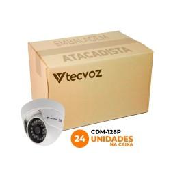 Kit Câmeras Tecvoz Dome Flex HD CDM-128P Alta Definição (1.0MP | 720p | 2.8mm | Plast)