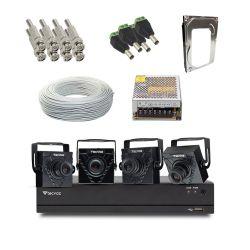Kit Completo  Mini Câmera Tecvoz