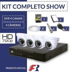 Kit Fbr Focusbras Completo em Alta Definição - 4 câmeras internas HD