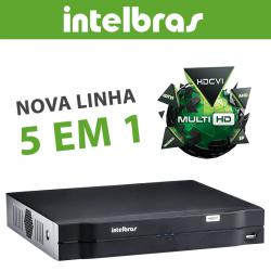 Kit Intelbras Completo Alta Definição - 2 Câmeras - Hd