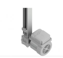 Kit Motor de Portão Peccinin Basculante Gatter 110/220v 60HZ SB1000 Acionador Agile S (1/4 | 300kg | 20 Ciclos | 9s)