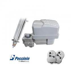 Kit motor para portão basculante vertical 4010 60hz 1.5m v4 peccinin